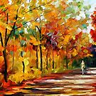 Fall Noon — Buy Now Link - www.etsy.com/listing/215138362 by Leonid  Afremov