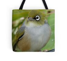 Beauty Is In The Eye Of The Beholder! - Silvereye - NZ Tote Bag