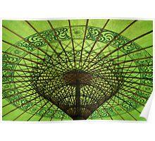 burmese Parasol Poster