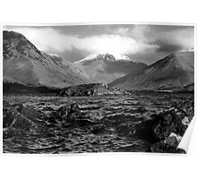 B&W Wastwater Poster
