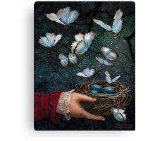 Night Nest Canvas Print