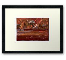 Shrine Autumn Framed Print