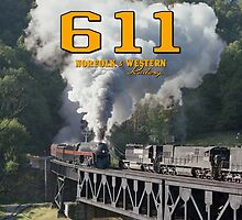Norfolk & Western #611 - Coopers, WV by TrainmasterBob
