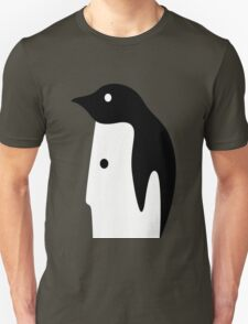 Penguin Face Unisex T-Shirt