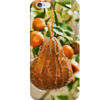 Pear in a Calamondin Tree iPhone Case/Skin