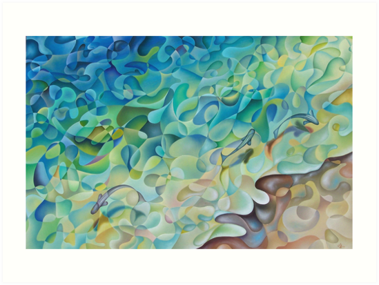 Shoreline In 'D' Minor by Karsten Stier