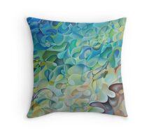 Shoreline In 'D' Minor Throw Pillow