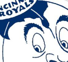 Cincinnati Royals Sticker