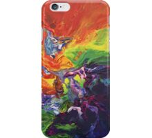 """Explosion"" original artwork by Laura Tozer iPhone Case/Skin"