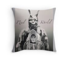 Mad World  Throw Pillow