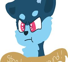 Stop Bucking Around by Doodle-Stroodle