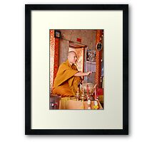 A blessing Framed Print