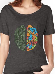 Techno Mind Women's Relaxed Fit T-Shirt