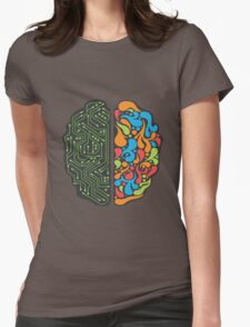 Techno Mind Womens Fitted T-Shirt