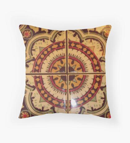 Outback Mandala Throw Pillow