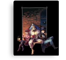 One Piece: Resting Canvas Print