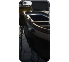 Charming Old Wooden Boats in the Harbor iPhone Case/Skin