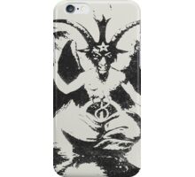 DEVIL - LIVED iPhone Case/Skin