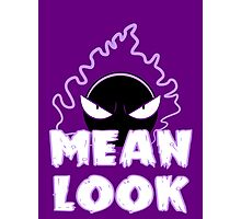 Mean Look Photographic Print