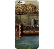 Steampunk - Airship - The original Noah's Ark iPhone Case/Skin