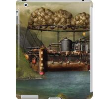 Steampunk - Airship - The original Noah's Ark iPad Case/Skin