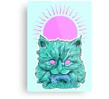 Heartless Kitty Metal Print