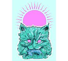 Heartless Kitty Photographic Print