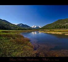 Bear River Headwaters - Utah nature landscape print by Alan Mitchell