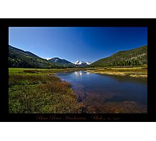 Bear River Headwaters - Utah nature landscape print Photographic Print