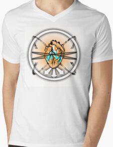 Burning Bound Emotion - Lighter Colored Mens V-Neck T-Shirt