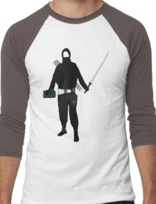The Ninja Photographer Men's Baseball ¾ T-Shirt