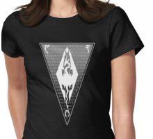 To the east, to Morrowind Womens Fitted T-Shirt