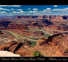 Dead Horse Point State Park - Utah nature landscape print by Alan Mitchell