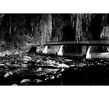 The River BW Photographic Print