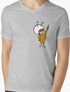 Atom Ant Mens V-Neck T-Shirt