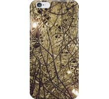 Light on a wire iPhone Case/Skin