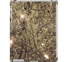 Light on a wire iPad Case/Skin