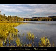 Governor Dern Lake - Utah nature landscape print by Alan Mitchell