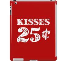 Valentine's Day Kisses 25 Cents iPad Case/Skin