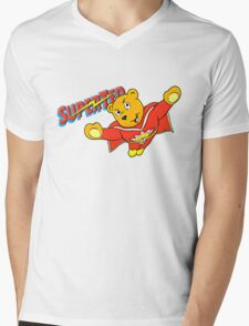 SuperTed! Mens V-Neck T-Shirt