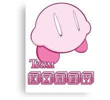 Team Kirby Canvas Print