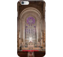 Choir Loft Panorama, Our Lady of Hope, Philadelphia iPhone Case/Skin