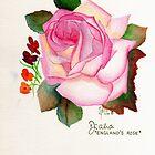 Rose Lady Diana by James Peele