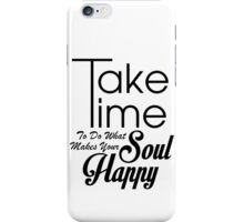 Happy Soul iPhone Case/Skin