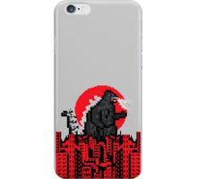 8-Bit Godzilla iPhone Case/Skin