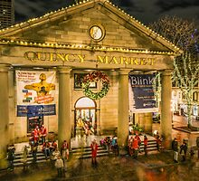 Quincy Market at Christmas by LudaNayvelt