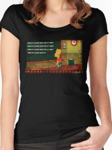 Clever Quote Women's Fitted Scoop T-Shirt