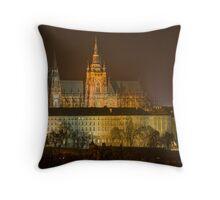Prague Castle, Czech Republic Throw Pillow
