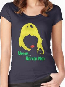 FAT AMY Women's Fitted Scoop T-Shirt