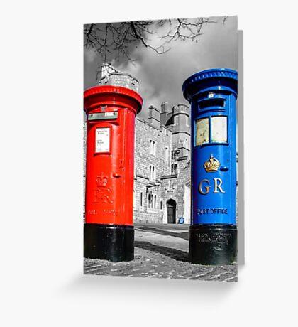 Snail Mail, Royal Windsor Greeting Card
